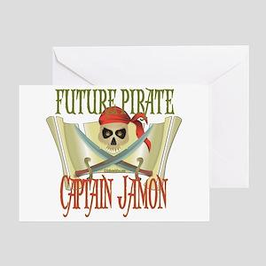 Captain Jamon Greeting Card