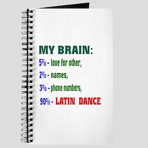 My brain, 90% Latin dance Journal