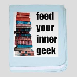 Feed Your Inner Geek baby blanket