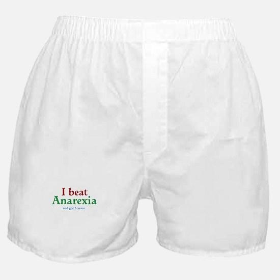 I Beat Anarexia Boxer Shorts