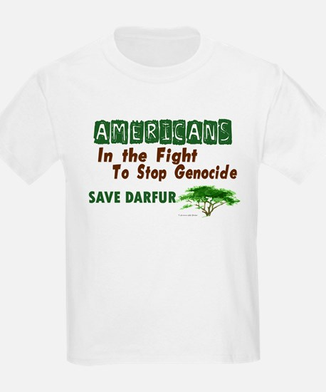 Americans In The Fight (Darfur) T-Shirt