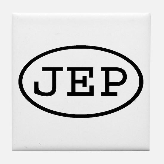 JEP Oval Tile Coaster