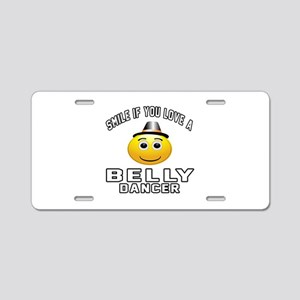 Belly Dancer Designs Aluminum License Plate
