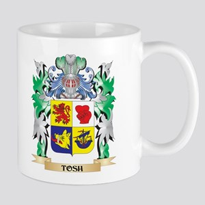 Tosh Coat of Arms - Family Crest Mugs