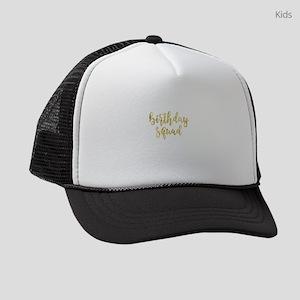 Birthday Squad Kids Trucker hat
