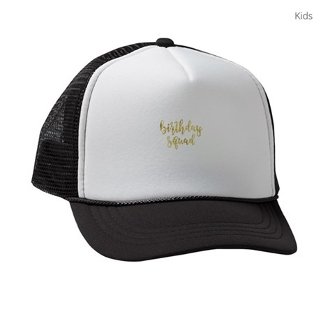 Birthday Squad Kids Trucker hat