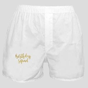 Birthday Squad Boxer Shorts