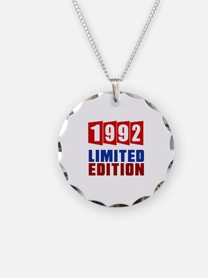 1992 Limited Edition Birthda Necklace