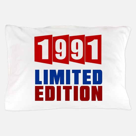 1991 Limited Edition Birthday Pillow Case