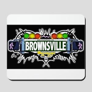 Brownsville (Black) Mousepad