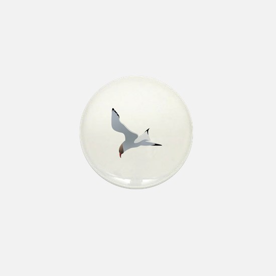 Unique Seagull Mini Button