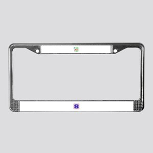 A day without Porter makes me License Plate Frame
