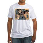 Fitted Samurai with Cannon T-Shirt