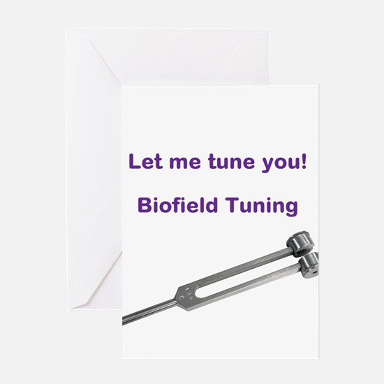 Let me tune you Greeting Cards