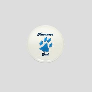 Havanese Dad3 Mini Button