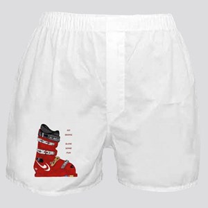 ski boot Boxer Shorts
