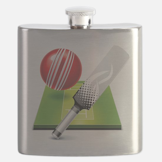 Cute Cricket Flask
