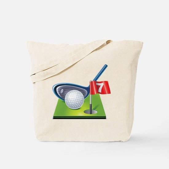 Cute Frisbee golf Tote Bag