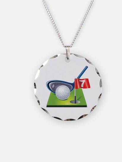 Cute Golf Necklace