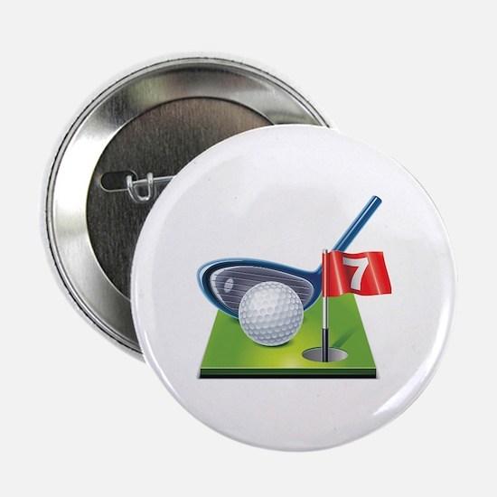 """Cute Golf 2.25"""" Button"""