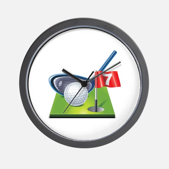Funny Golf Wall Clock