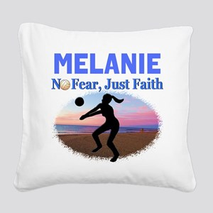 VOLLEYBALL STAR Square Canvas Pillow