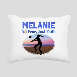 VOLLEYBALL STAR Rectangular Canvas Pillow