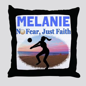 VOLLEYBALL STAR Throw Pillow