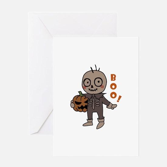 Boo Goblin Greeting Cards