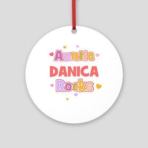 Danica Ornament (Round)