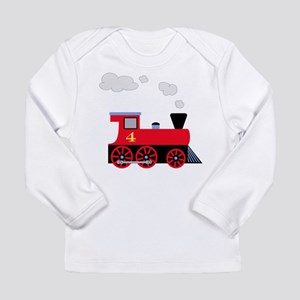 train age 4 for navy Long Sleeve T-Shirt