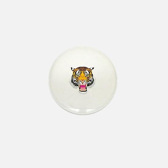 Cute Tiger head Mini Button