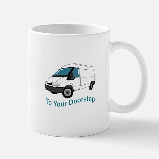 To Your Doorstep Mugs