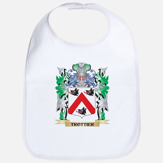 Trottier Coat of Arms - Family Crest Bib