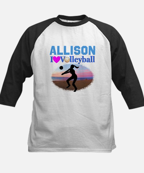 VOLLEYBALL STAR Kids Baseball Jersey