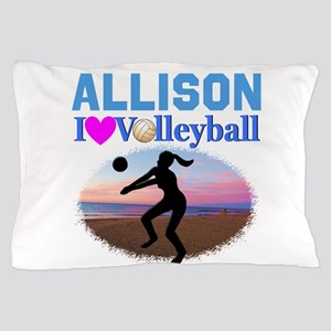 VOLLEYBALL STAR Pillow Case