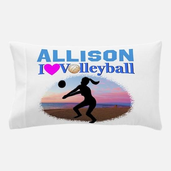 VOLLEYBALL STAR Pillow Case