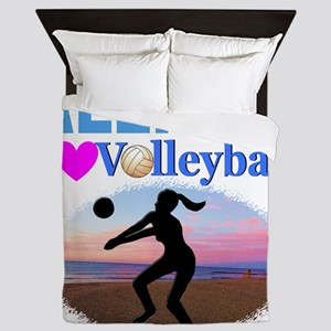 VOLLEYBALL STAR Queen Duvet