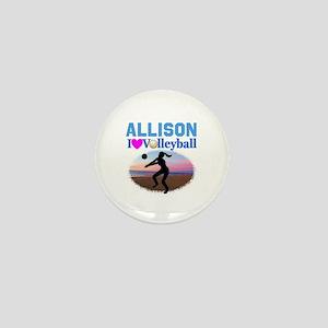 VOLLEYBALL STAR Mini Button