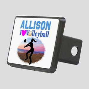 VOLLEYBALL STAR Rectangular Hitch Cover