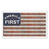 Flag of bricks Single