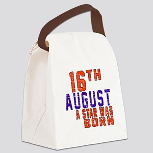 16 August A Star Was Born Canvas Lunch Bag