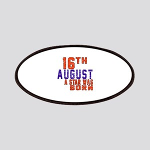 16 August A Star Was Born Patch