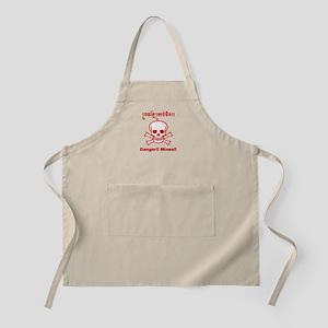 Danger! Mines! BBQ Apron