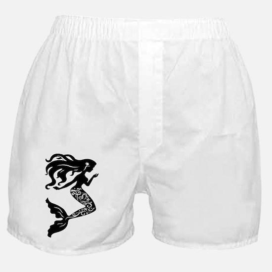 Funny Mermaids Boxer Shorts