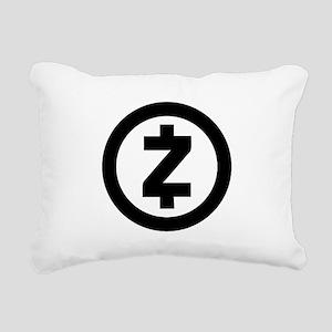 HD Zcash Official Logo Z Rectangular Canvas Pillow