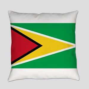 Guyana Flag Everyday Pillow