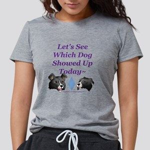 Which Dog Showed Up White T-Shirt