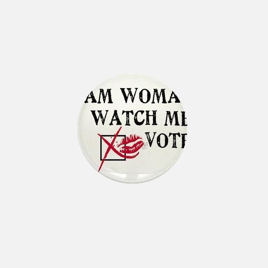 Watch Me Vote! Mini Button