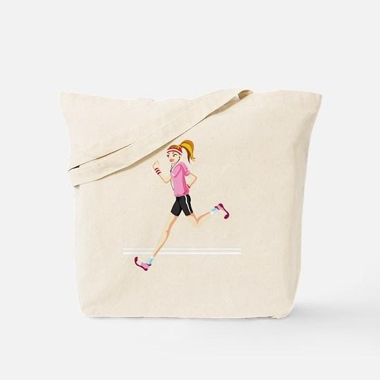 Cute Running Tote Bag